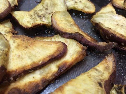 Venison Boboeti with baked sweet potato spuds