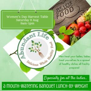 Harvest TableSaturday 9 Aug9am-1pm copy
