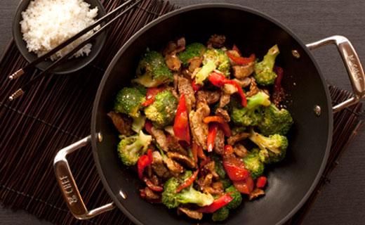 Pork Fillet Asian Stir Fry