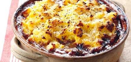 Eat-in: Abundant Venison Cottage Pie